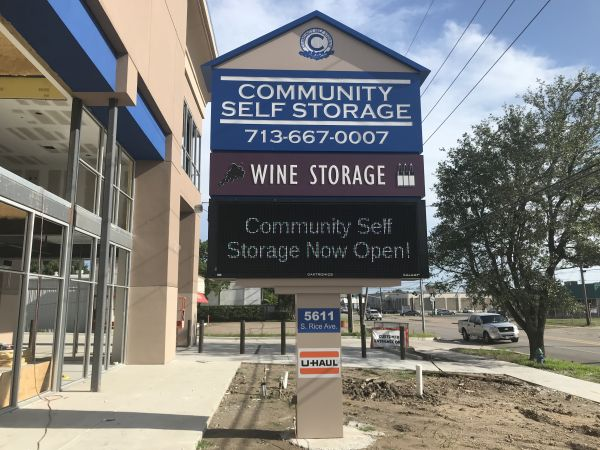 Community Self Storage - Bellaire / West U / Galleria 5611 South Rice Avenue Houston, TX - Photo 0