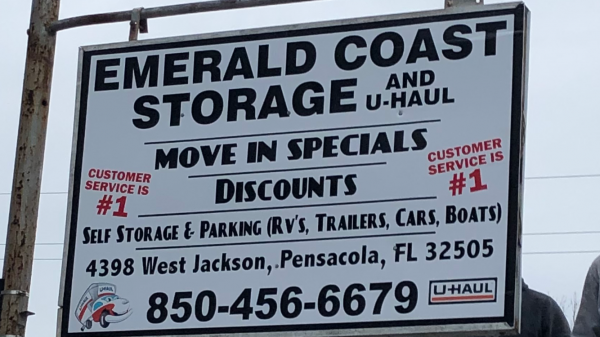 Emerald Coast Storage/Parking and U-Haul -Jackson 4398 West Jackson Street Pensacola, FL - Photo 0