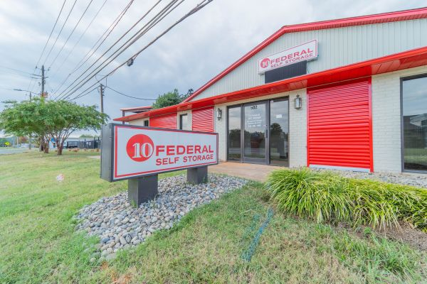 10 Federal Self Storage - 502 Industrial Park Ave, Asheboro, NC 27205