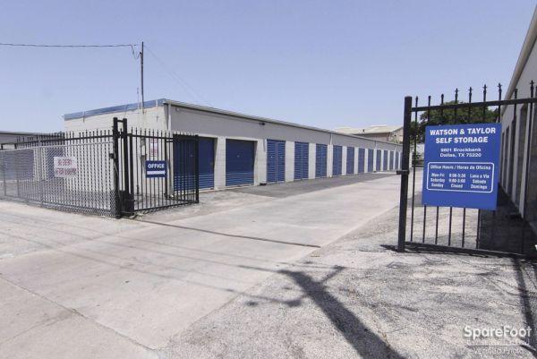 Watson & Taylor Self Storage - Brockbank 9801 Brockbank Drive Dallas, TX - Photo 3