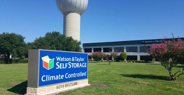 Watson & Taylor Self Storage - Belt Line 4015 Belt Line Road Addison, TX - Photo 0