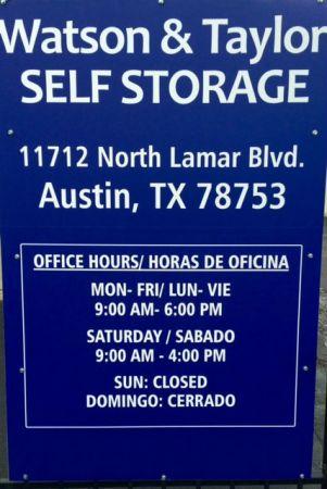 Watson & Taylor Self Storage - North Austin 11712 North Lamar Boulevard Austin, TX - Photo 10