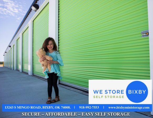 We Store Bixby Self Storage 13243 South Mingo Road Bixby, OK - Photo 2