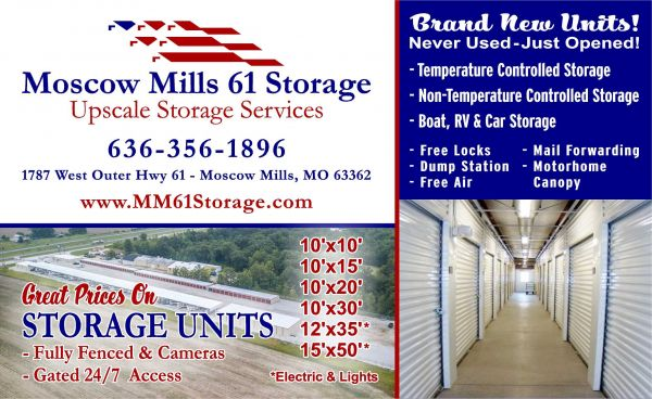 Moscow Mills 61 Storage 1787 West Outer Highway 61 Moscow Mills, MO - Photo 6