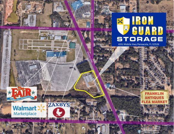 Pensacola Storage, LLC 6551 Mobile Highway Pensacola, FL - Photo 0