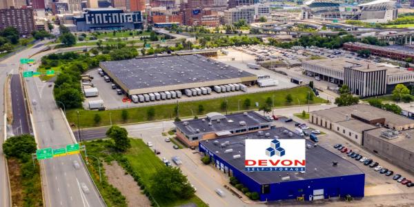 Devon Self Storage - Cincinnati 737 West 6th Street Cincinnati, OH - Photo 1