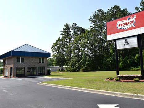 Storage Rentals of America - Florence - S Irby St 3506 South Irby Street Florence, SC - Photo 1
