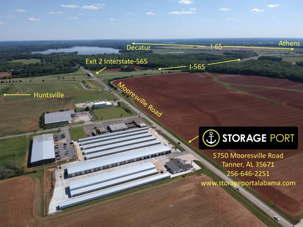 Storage Port 5750 Mooresville Road Tanner, AL - Photo 0