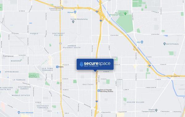 SecureSpace Self Storage Torrance 722 West 220th Street Torrance, CA - Photo 2