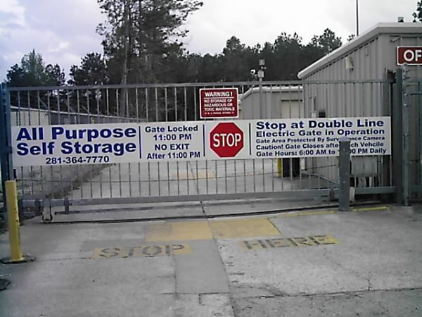 All Purpose Storage - Sawdust 1715 Sawdust Road The Woodlands, TX - Photo 1