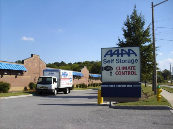 Aaaa Self Storage Amp Moving Norfolk 6562 Tidewater Dr