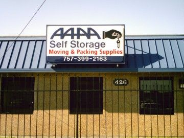 AAAA Self Storage & Moving - Portsmouth - 426 Elm Ave 426 Elm Ave Portsmouth, VA - Photo 1