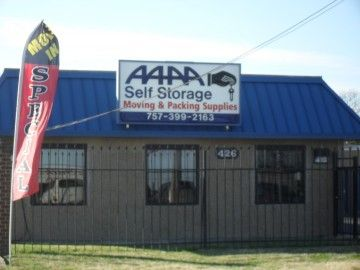 AAAA Self Storage & Moving - Portsmouth - 426 Elm Ave 426 Elm Ave Portsmouth, VA - Photo 2