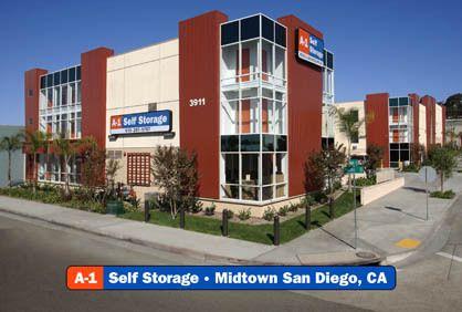 A-1 Self Storage - San Diego - Midtown 3911 Pacific Hwy San Diego, CA - Photo 0