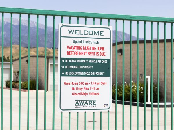 Aware Self Storage 5021 W Ramsey St Banning, CA - Photo 2