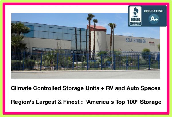 Sun Valley Climate-Controlled Self Storage + Auto & R.V. Spaces 19125 N Indian Canyon Dr Palm Springs, CA - Photo 1