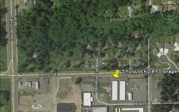SHUR LOCK SELF STORAGE 5706 160th St E Puyallup, WA - Photo 1