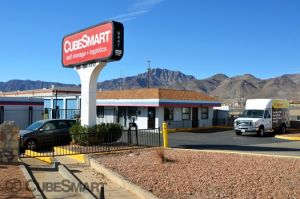 Photo of CubeSmart Self Storage - El Paso - 9447 Diana Drive & Top 20 Self-Storage Units in El Paso TX w/ Prices u0026 Reviews