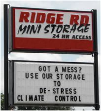 Ridge Road Mini Storage
