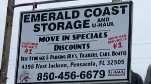 Photo of Emerald Coast Storage/Parking and U-Haul -Jackson