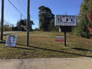 Copper Safe Storage - Griffin