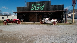 Photo of Model T Garage